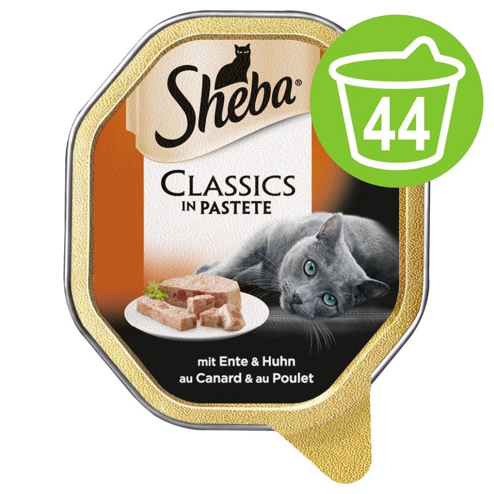 44x85g bouchées de dinde, sauce blanche Sauce spéciale - Sheba - Nourriture pour Chat
