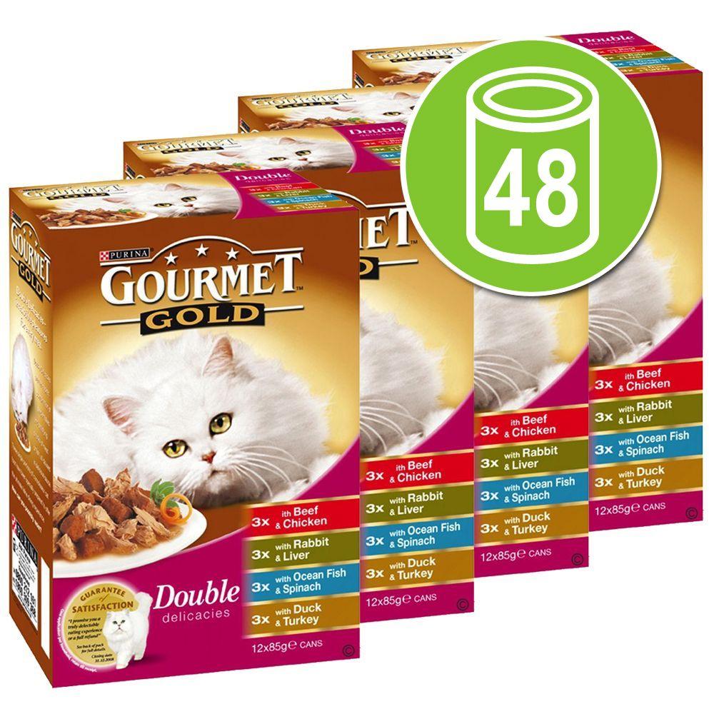 Chat Boîtes et sachets Gourmet Gold Lots mixtes Gourmet Gold