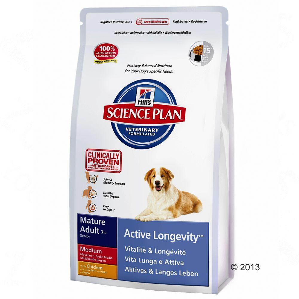 Hill's Canine Medium Mature Adult 7+, kurczak - 12 kg