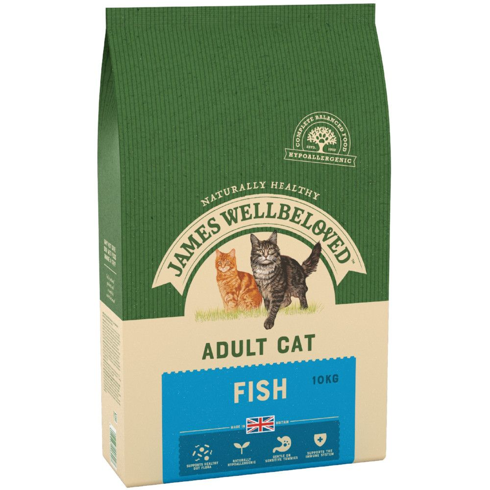 Fish Adult Cat Food James Wellbeloved