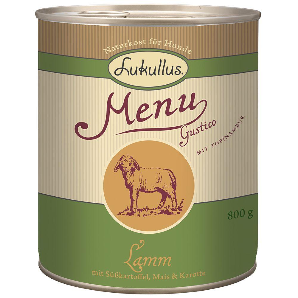 Lukullus Menu Gustico Lamm mit Süßkartoffel, Ma...
