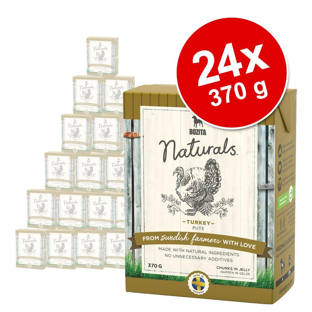 Bozita Naturals Häppchen in Gelee 24 x 370 g - Junior: zartes Hühnchen