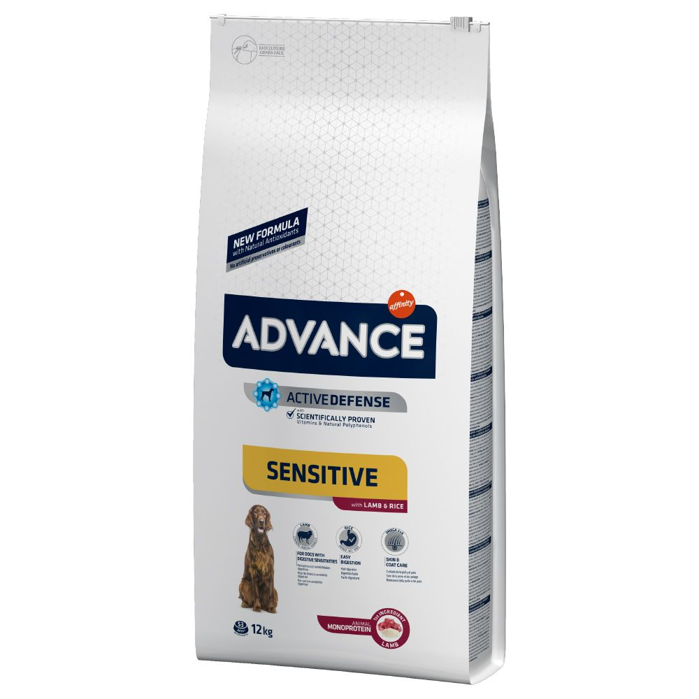 Bilde av Advance Sensitive Adult Lam & Ris - 12 Kg