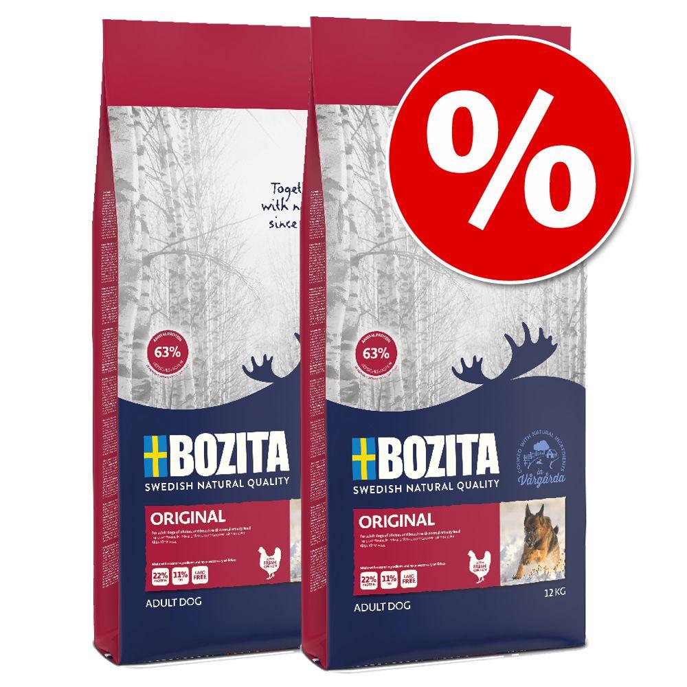 Ekonomipack: 2 stora påsar Bozita torrfoder till lågpris! - Light (2 x 10 kg)