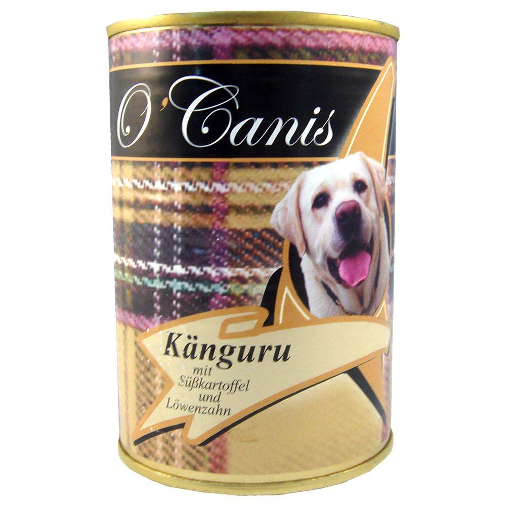 O´Canis Känguru, Süßkartoffeln & Löwenzahn - Sparpaket: 24 x 400 g