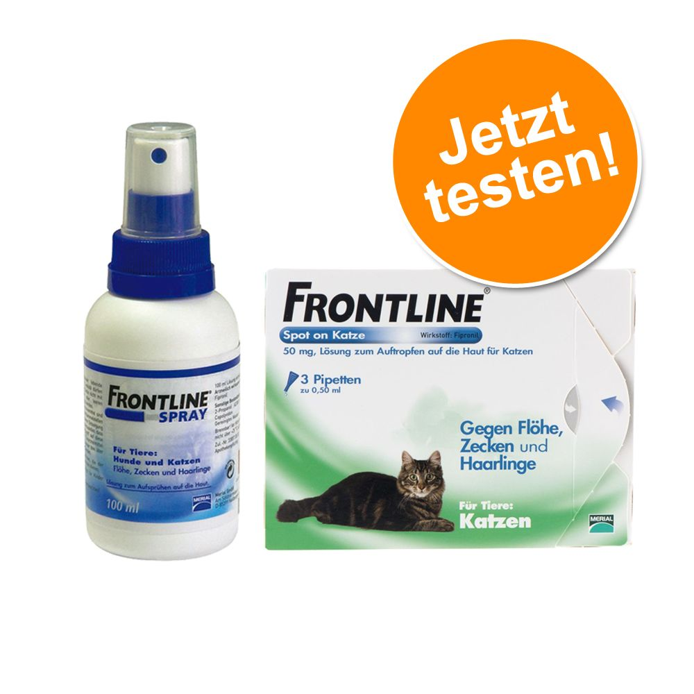 250 ml Frontline Spray 6 Pipetten Frontline CAT