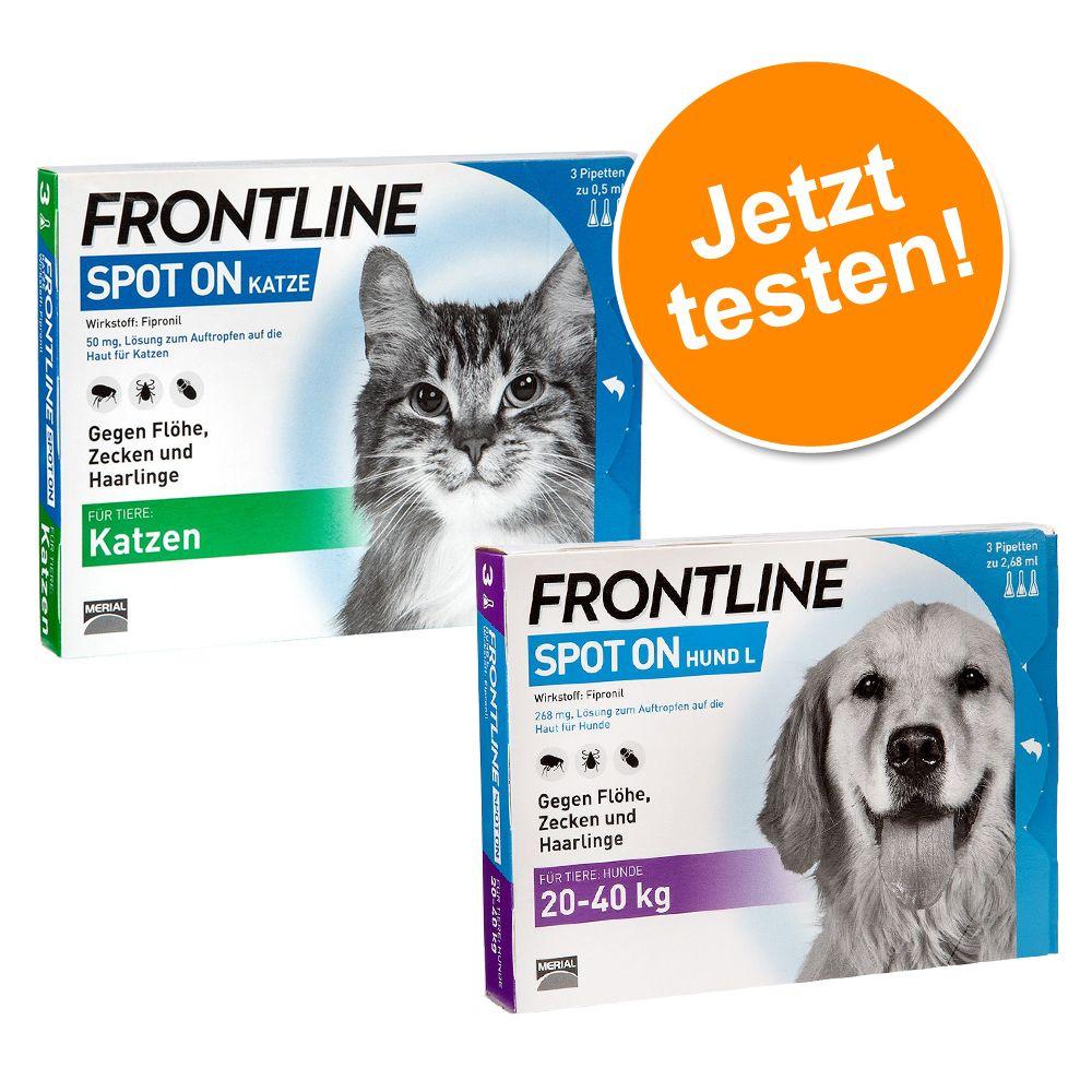 Frontline® Spot Set für Katzen & Hunde L - je 3...