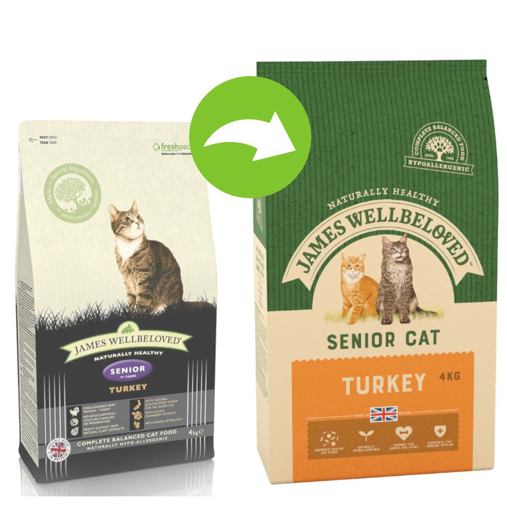 James Wellbeloved Senior Turkey & Rice - 4 kg