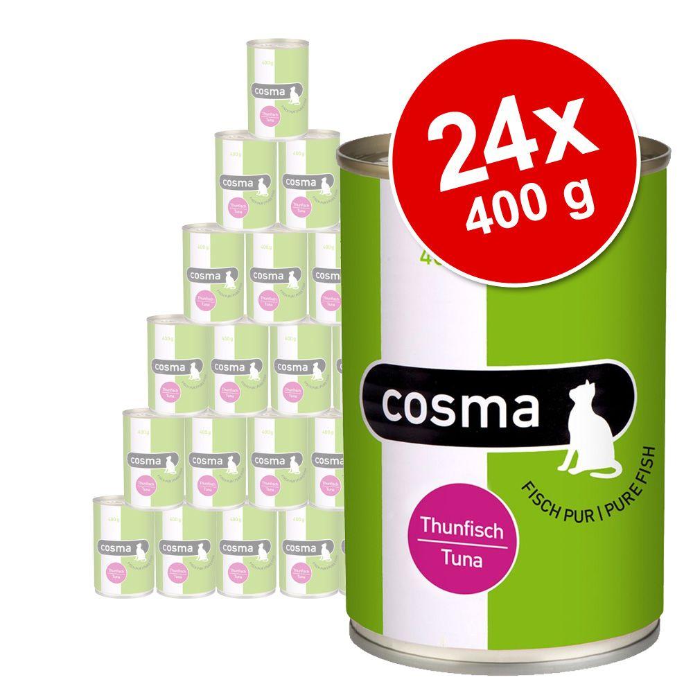 Lot Cosma Original en gelée 24 x 400 g pour chat - thon