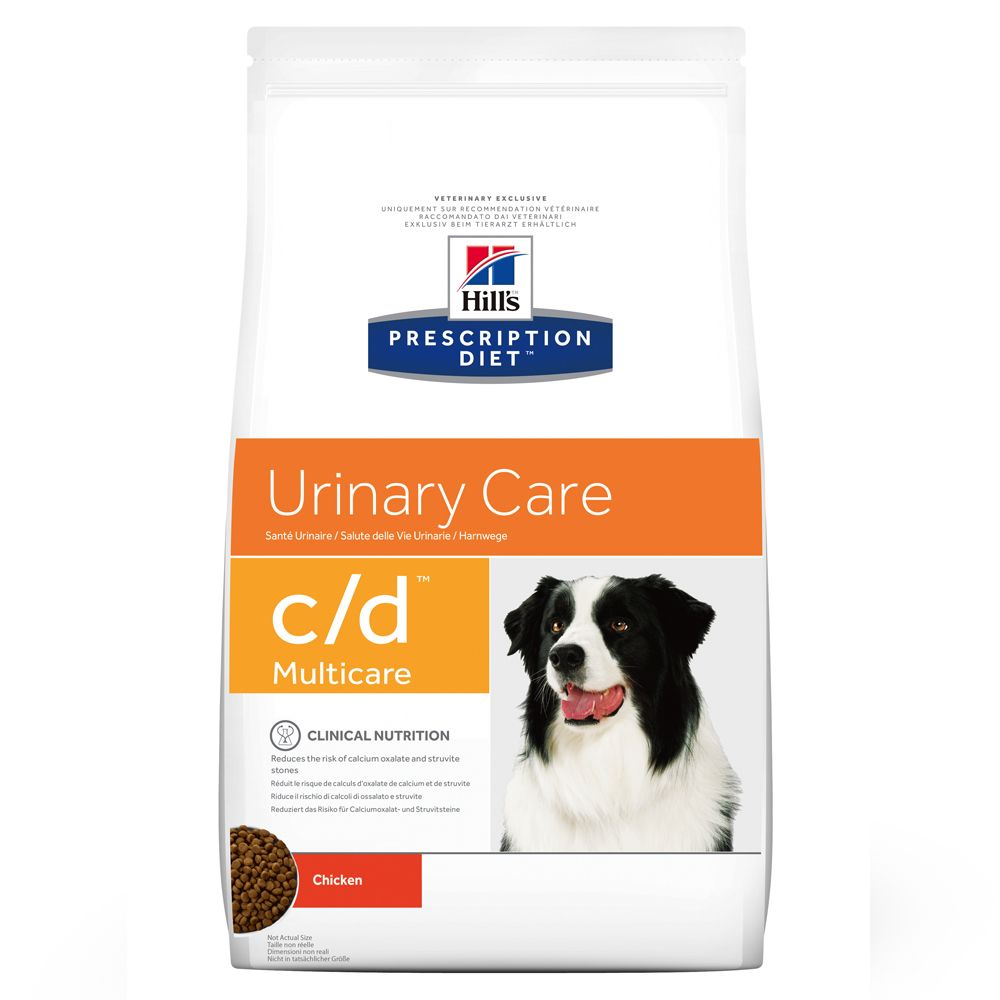 12kg c/d Multicare Urinary Care Hill's Prescription Diet Dry Dog Food