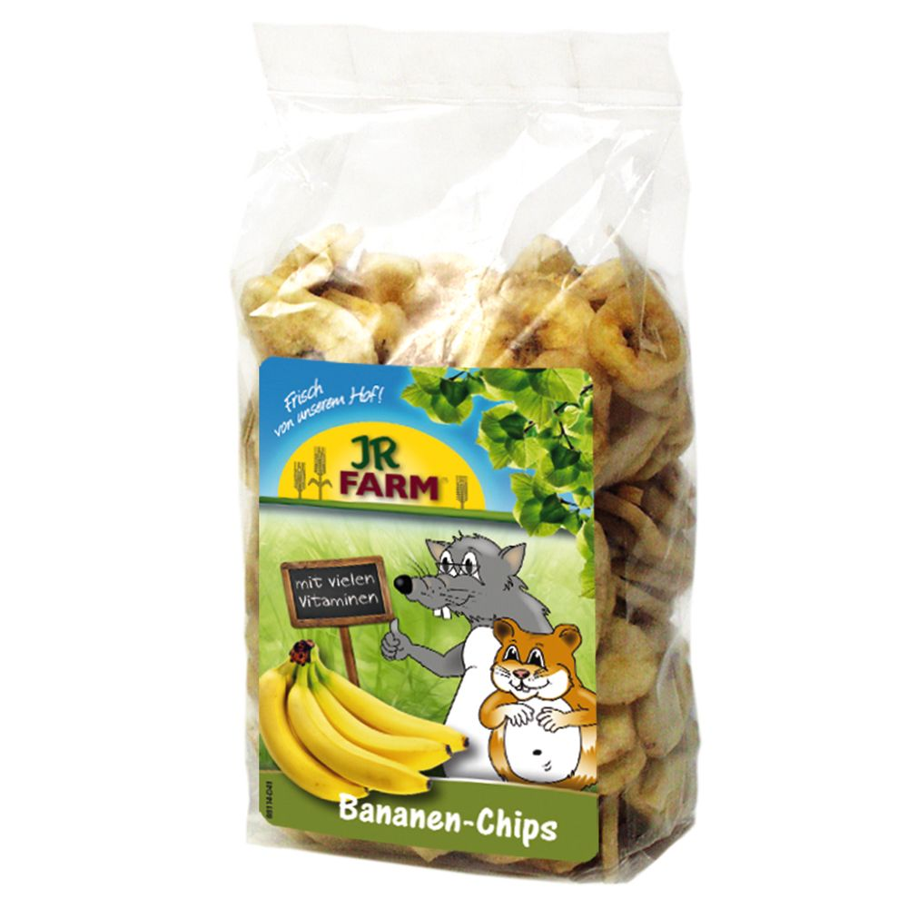 JR Farm Chipsy bananowe - 150 g
