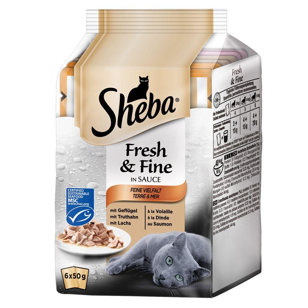 Sheba Fresh & Fine, 6 x 5