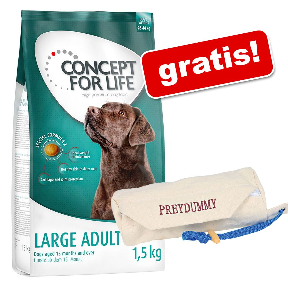 Foto 12 kg Concept for Life + Preydummy gratis! - Large Adult