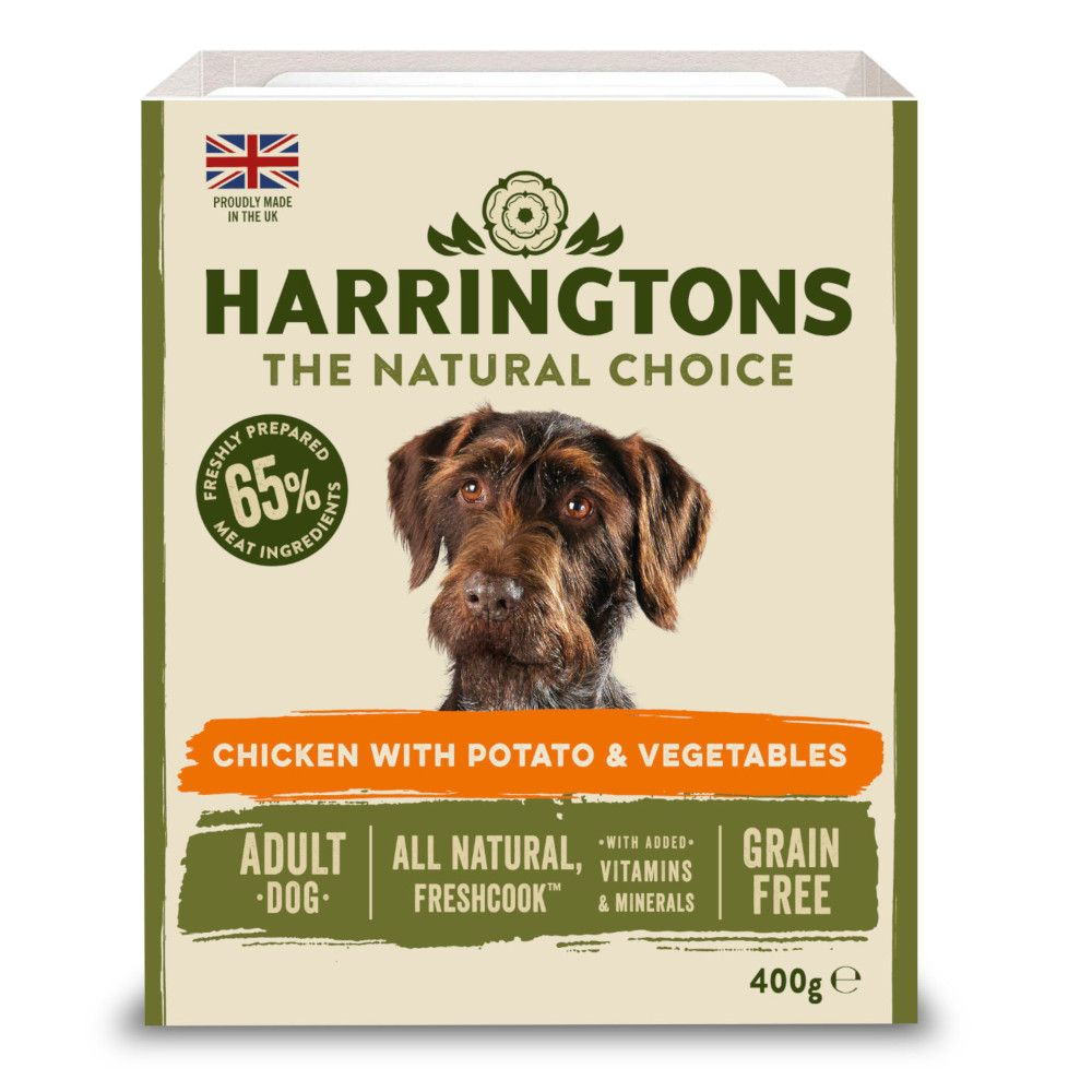 Harrington's Grain-Free Chicken & Potato with Vegetables Adult Wet Dog Food