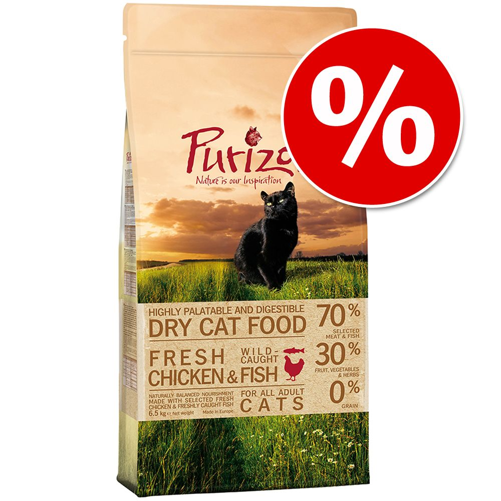 Foto Prezzo speciale! Purizon Gatto - Adult Pollo & Pesce 6,5 kg Purizon Cat