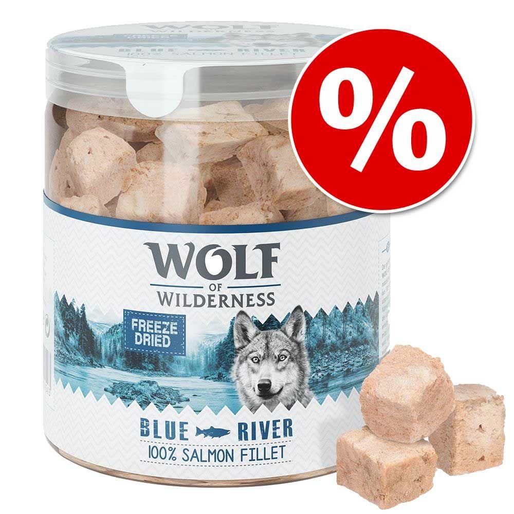 Wolf of Wilderness - liofilizowane przysmaki premium w super cenie! - Wątroba wołowa (90 g)