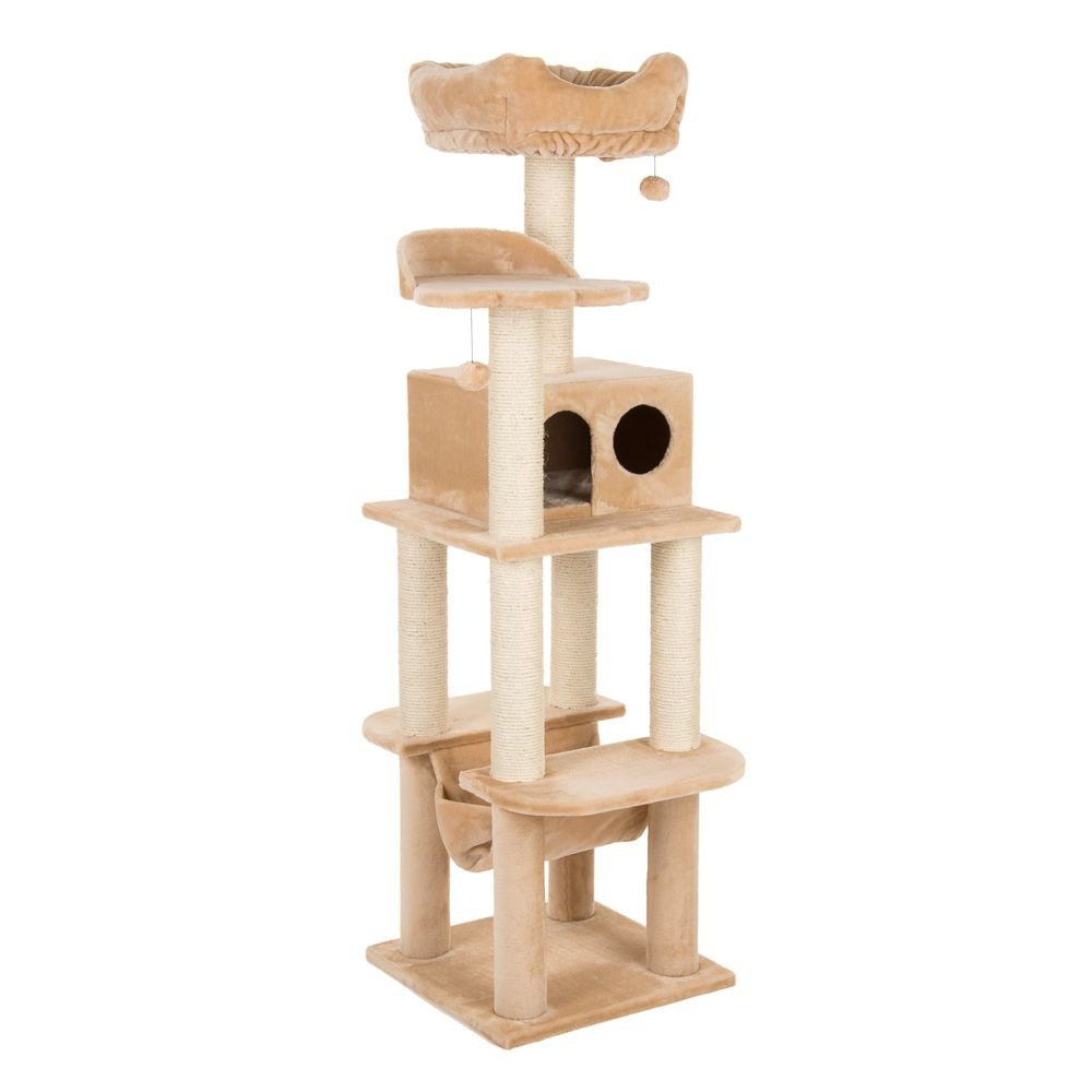 La Digue II Cat Tree Light Grey