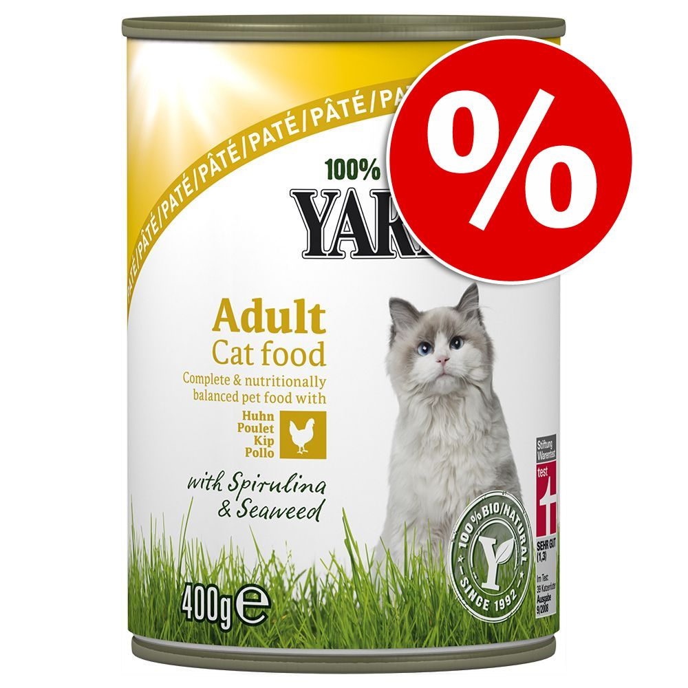Yarrah Bio Dinner Pâté, 12 x 400 g w super cenie! - Kurczak