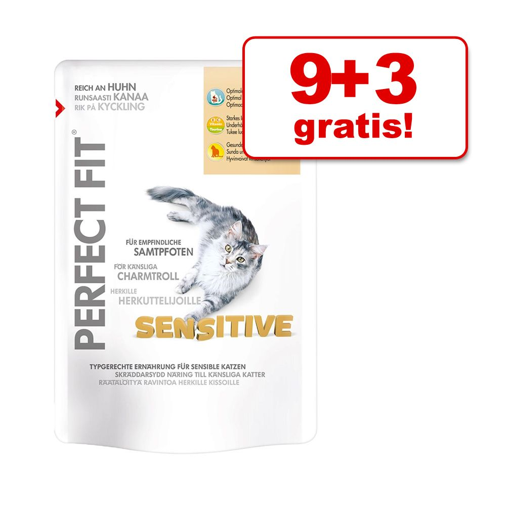9 + 3 gratis! Perfect Fit