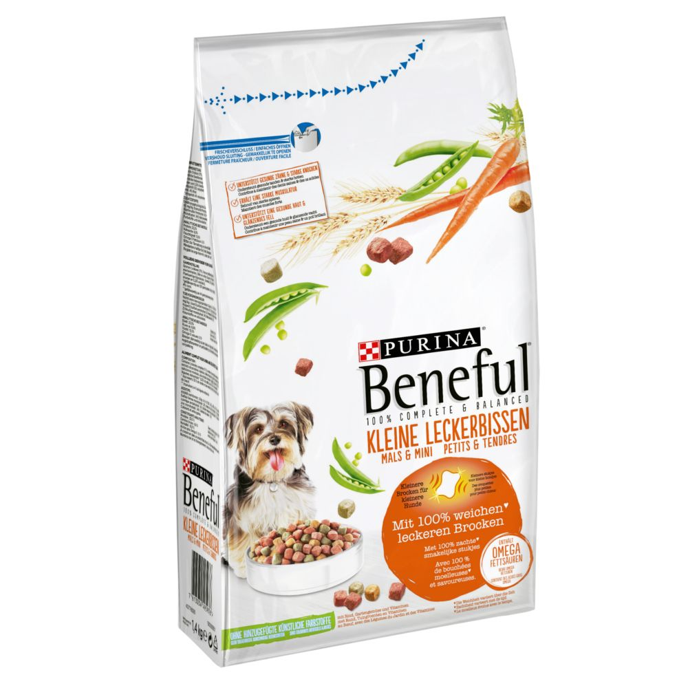 Beneful Little Tidbits Dog Food - 1.4kg