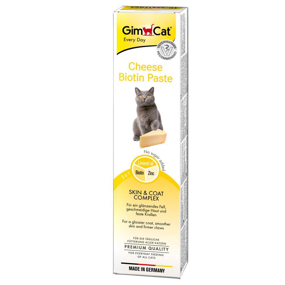 GimCat Cheese Biotin Paste - Ekonomipack: 2 x 200 g