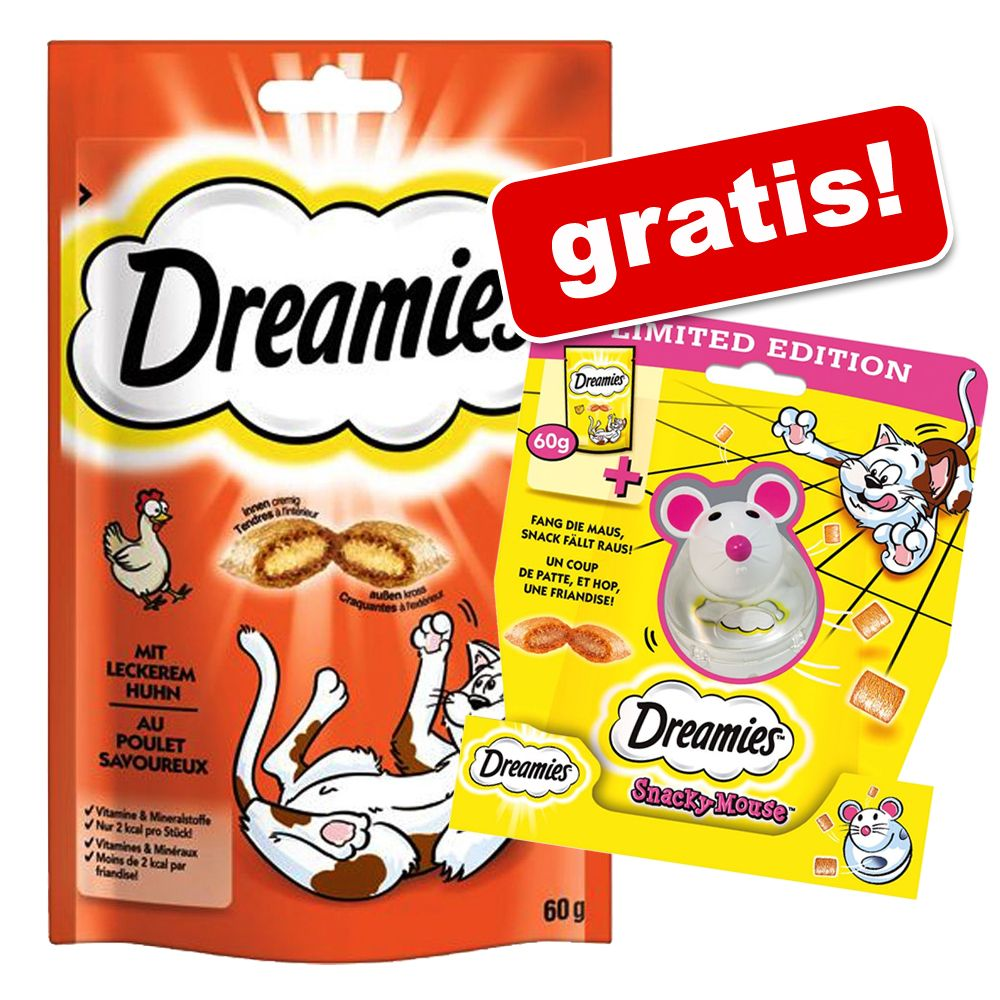 Dreamies Sparpaket + Snacky Mouse gratis! - Put...