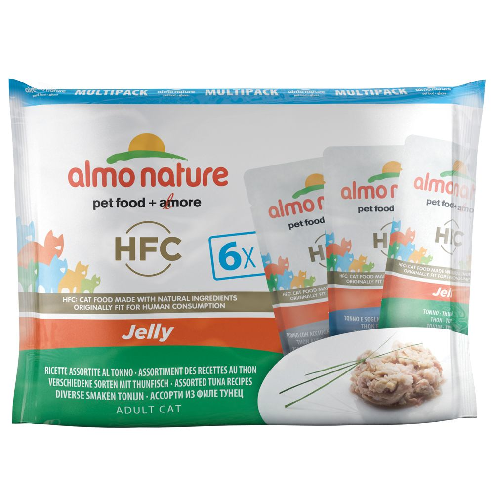 Almo Nature Classic Jelly Pouches 25 x 55g