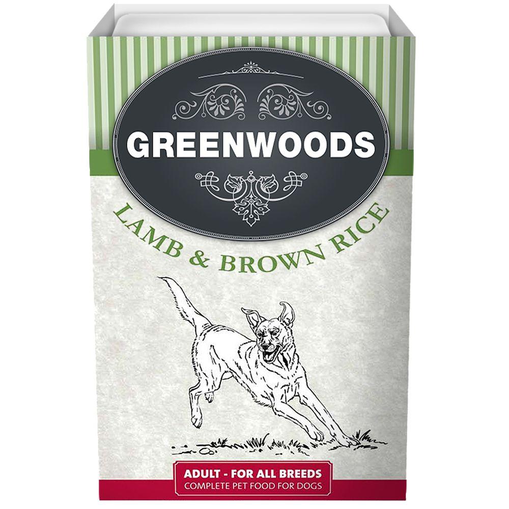 Greenwoods Adult – Lamb & Brown Rice - Saver Pack: 18 x 395g