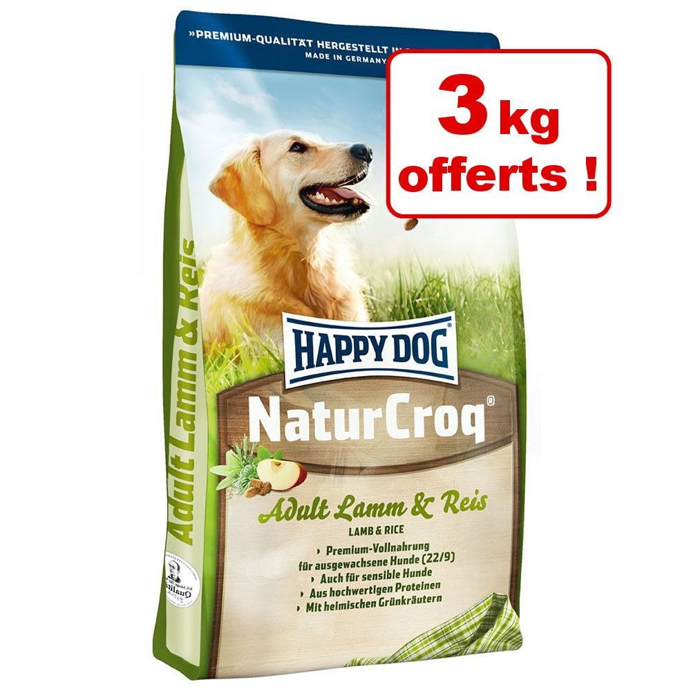 Chien Croquettes Happy Dog Natur