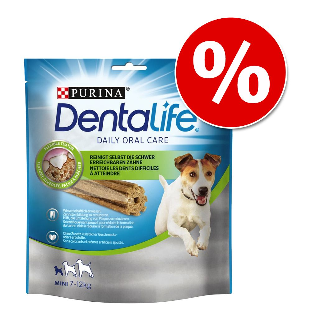 Purina Dentalife, przysmak dla psa w super cenie! - Rozmiar M: 5 sztuk (115 g)