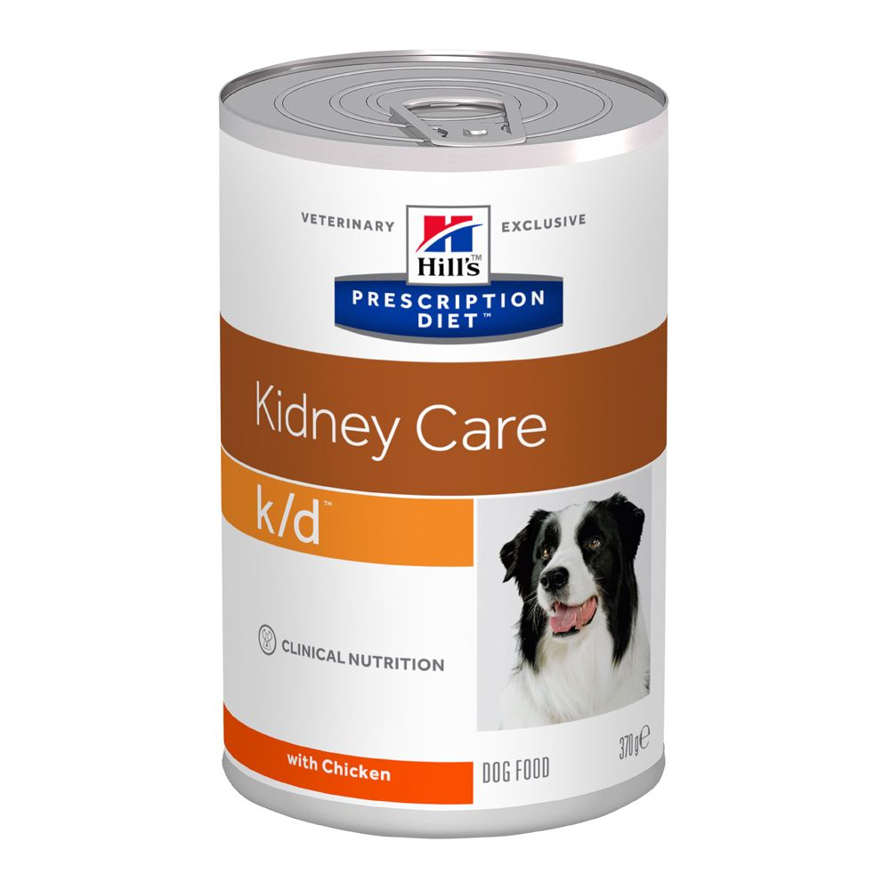 Hill's Prescription Diet k/d Kidney Care Original hundfoder - 12 x 370 g