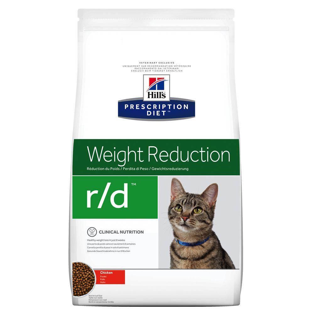 Hill's Prescription Diet r/d Weight Reduction Katzenfutter mit Huhn - 1,5 kg