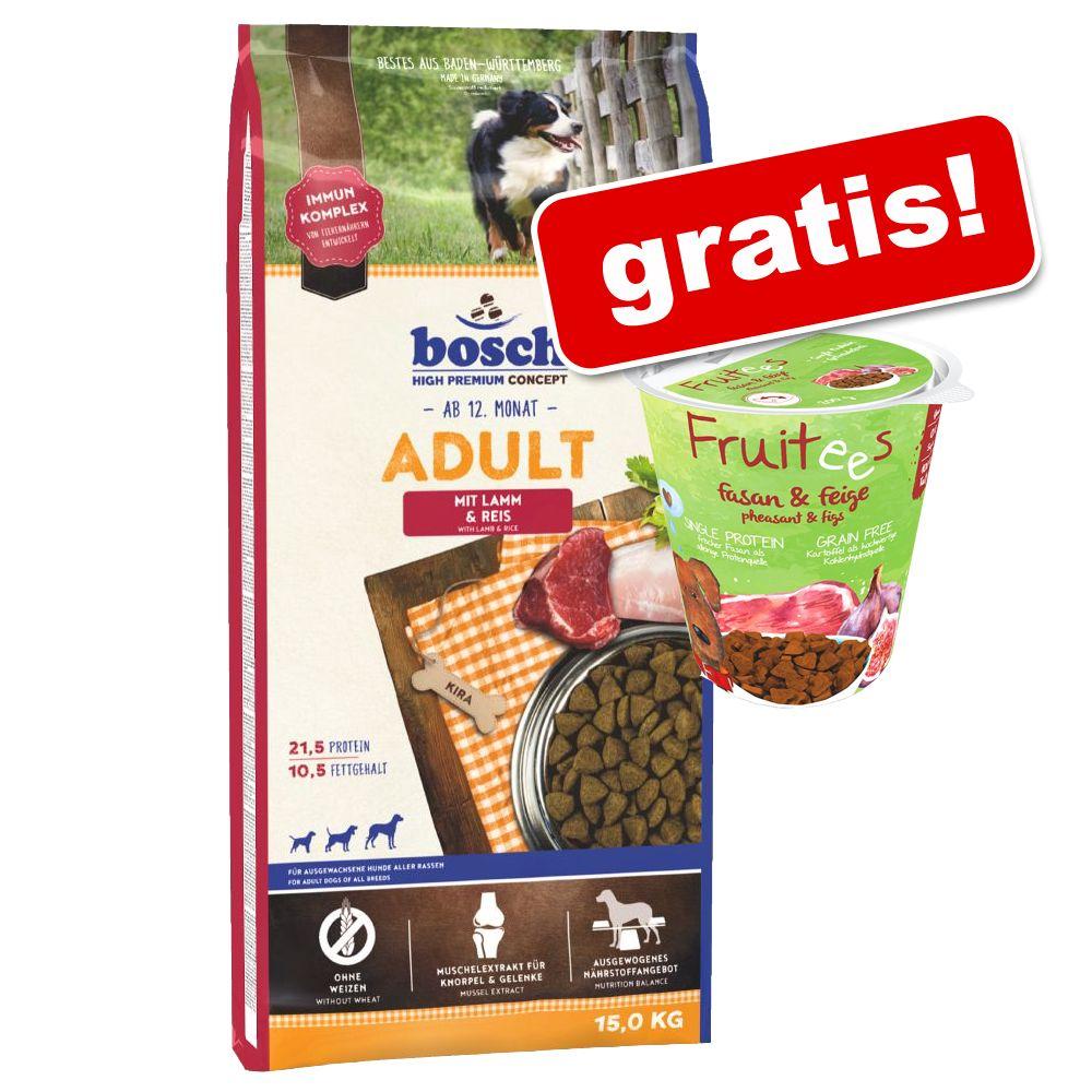 Image of Bosch + 200 g Bosch Fruitees Fagiano & Fico gratis! - HPC Active 15 kg