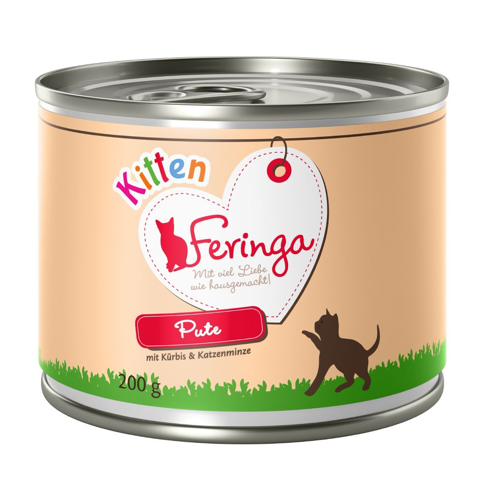 Kitten Turkey Feringa Menu Wet Cat Food
