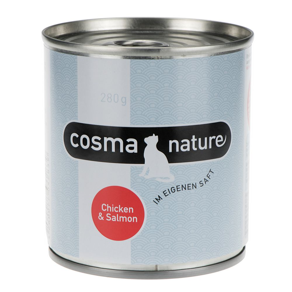 Cosma Nature Saver Pack 12 x 280g - Chicken & Salmon