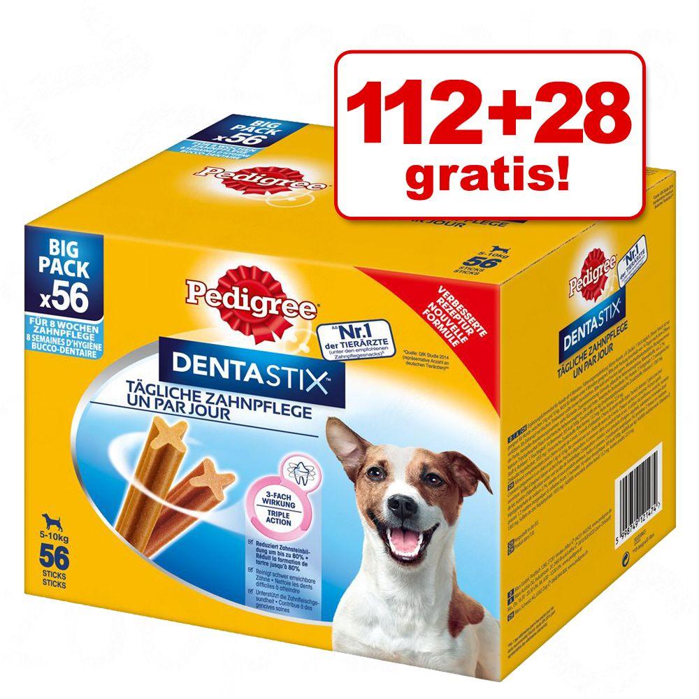 112 + 28 gratis! 140 x Pedigree Dentastix / Den...