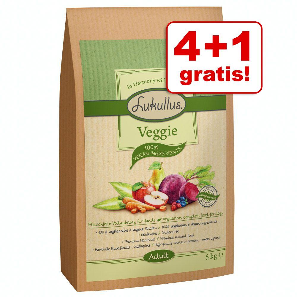 4 + 1 kg gratis! Lukullus Veggie (kaltgepresst)...