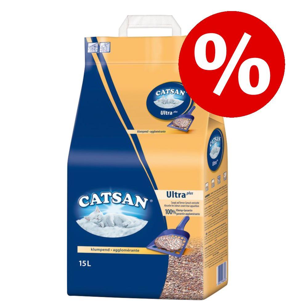 10 % rabatt på Catsan! Hygiene plus 18 l