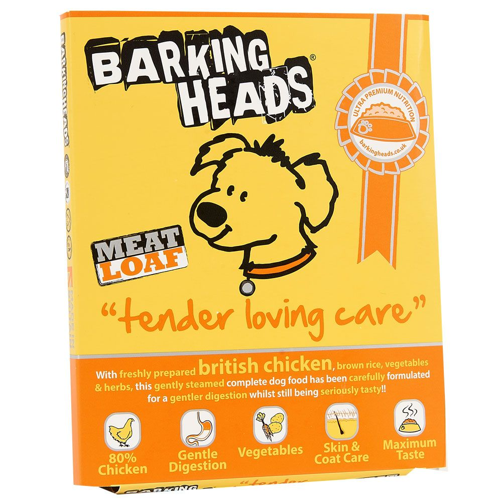 Barking Heads Tender Loving Care Chicken Wet Dog Food - 8 x 400g