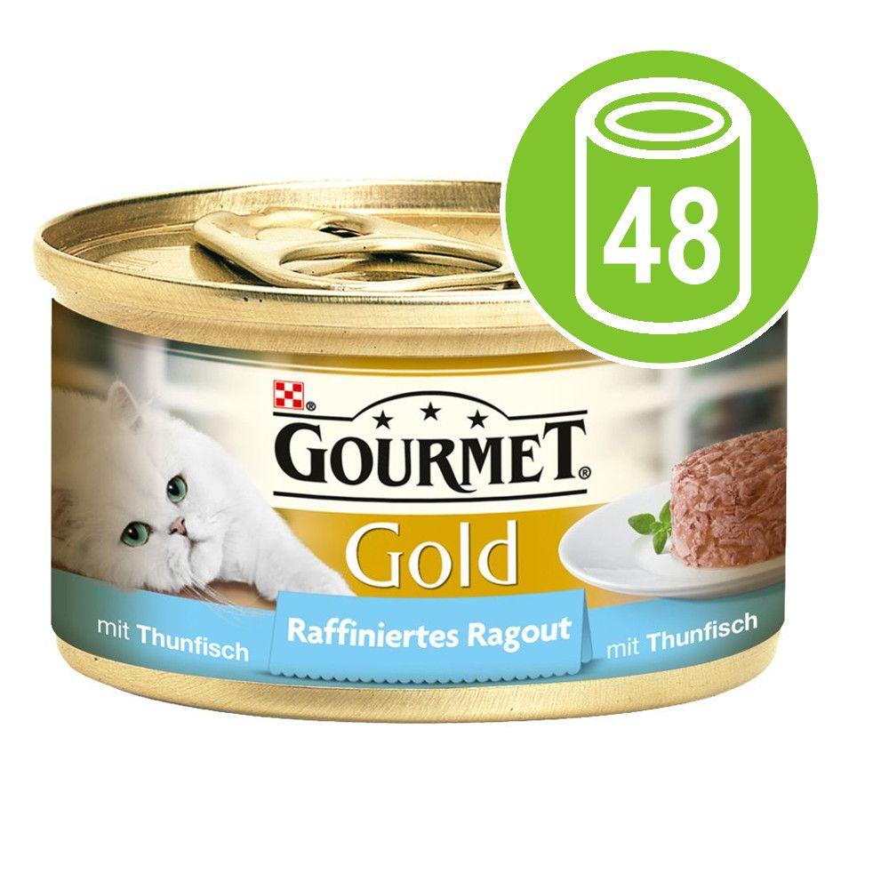 Ekonomipack: Gourmet Gold Ragout 48 x 85 g - Lax