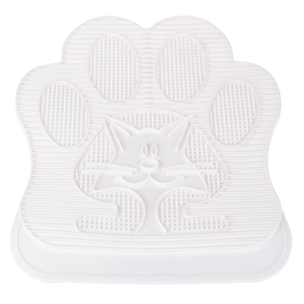 Benita Paw Cleaning Litter Mat - White