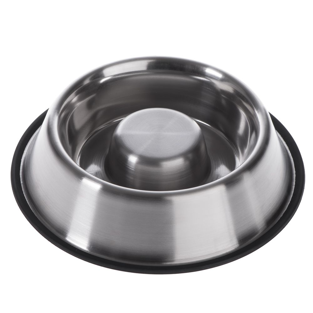 Slow Eating Bowl – Stainless Steel - 0.53 litre