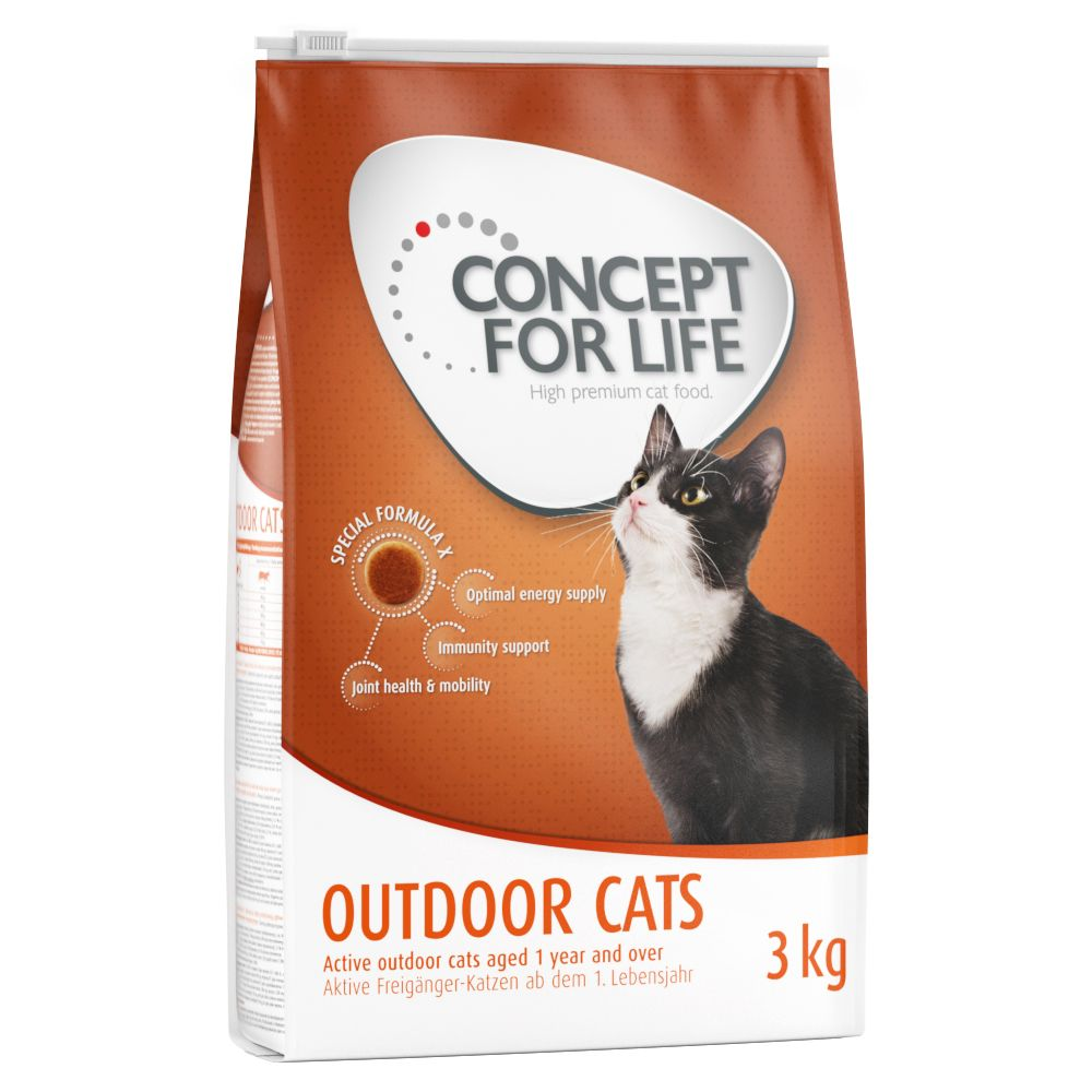 Outdoor Cats Concept for Life Dry Cat Food