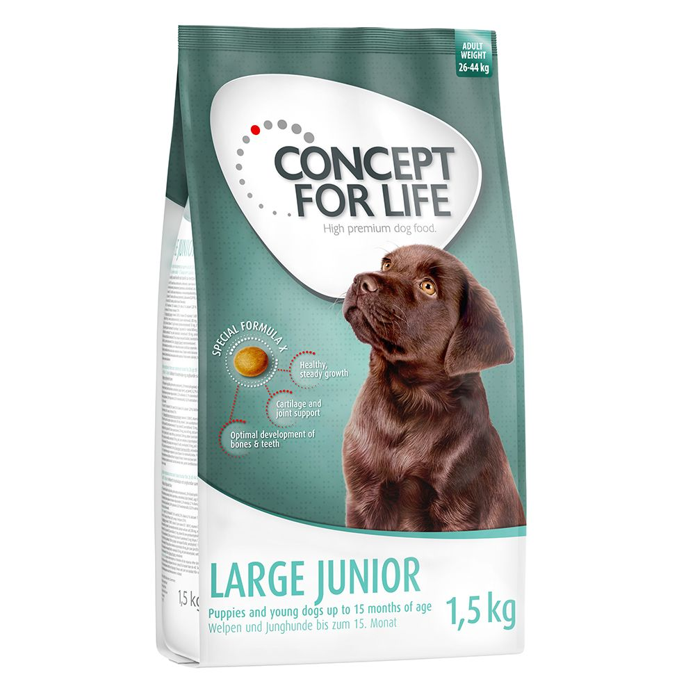 2 x 1.5kg Concept for Life Dry Dog Food - Buy One Get One Half Price!* - Medium Adult (2 x 1.5kg)