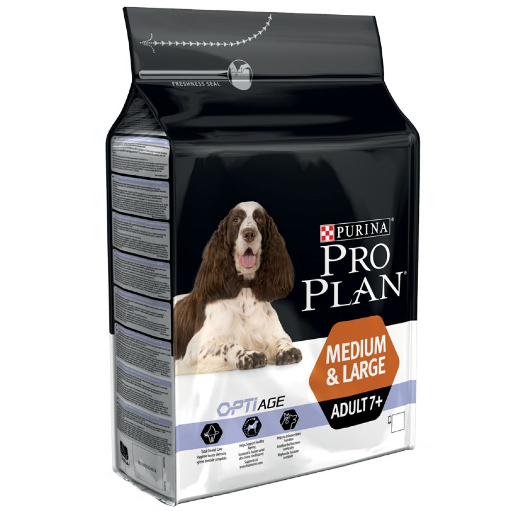 Senior Medium & Large OptiAge Chicken Pro Plan Dry Dog Food