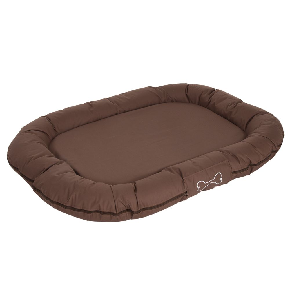 Strong&Soft Dog Mattress - Brown - 120 x 90 x 14 cm (L x W x H)