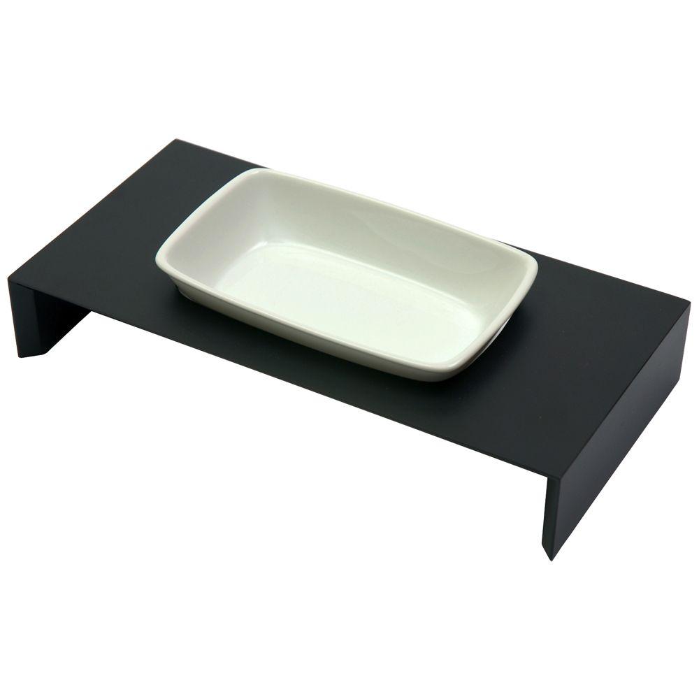 Replus Meshidai Siam Single Ceramic Bowl - Black - 0.25 litre