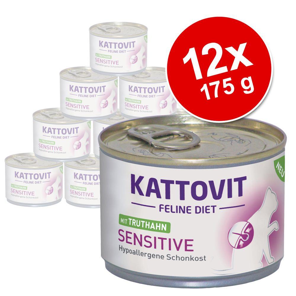 Ekonomipack: Kattovit Sensitive 12 x 175 g - Kyckling