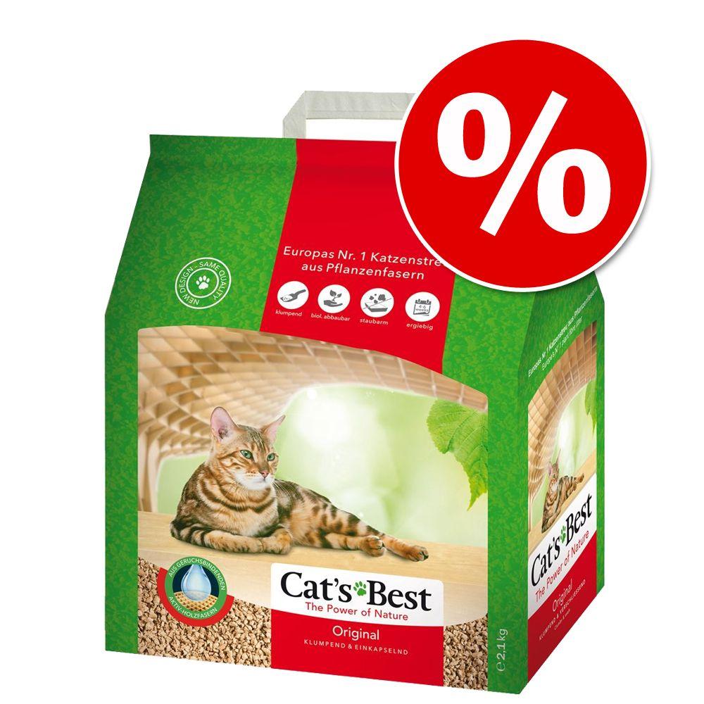 5l Cat´s Best Original Katzenstreu zum Sonderpr...