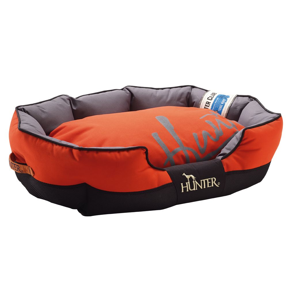 Hunter Grimstad Dog Bed - Orange - 75 x 50 x 25 cm (L x W x H)